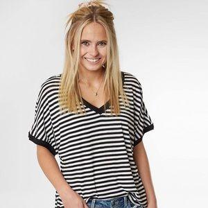 Z Supply The Stripe Boyfriend T-Shirt